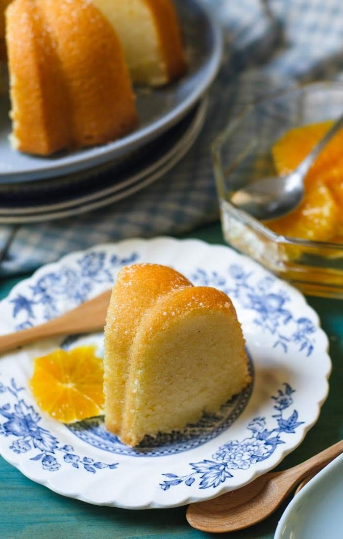 Semolina Cake with Orange Syrup