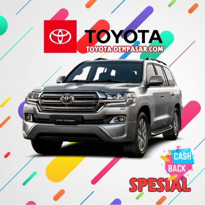 Toyota Denpasar - Lihat Spesifikasi New Land Cruiser, Harga Toyota Land Cruiser Bali dan Promo Toyota Land Cruiser Bali terbaik hari ini.