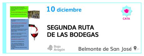 Segunda Ruta de las Bodegas en Belmonte de San José