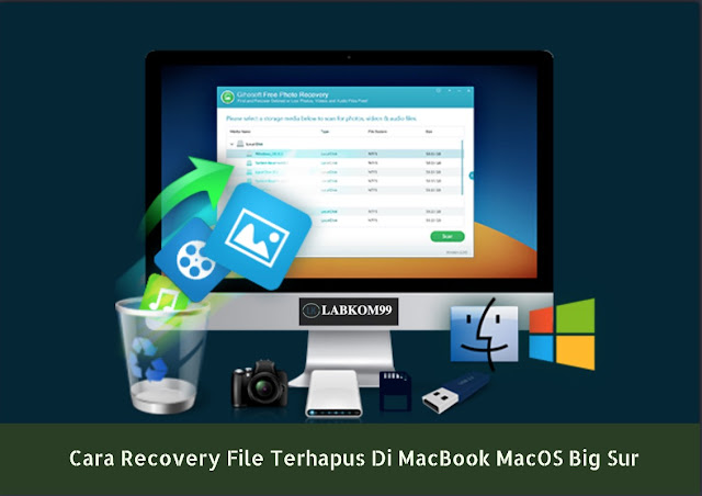 Cara Recovery File Terhapus Di MacBook MacOS Big Sur
