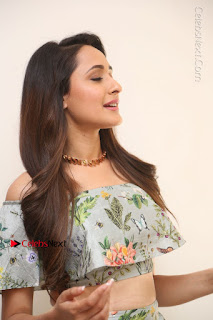 Actress Pragya Jaiswal Stills in Floral Dress at turodu Interview  0027.JPG