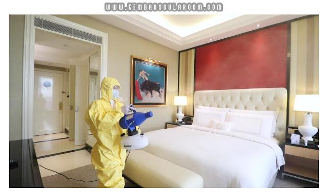 Proses Sterilisasi di The Trans Luxury Hotel
