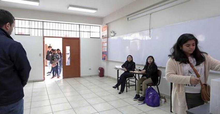 UNFV: Universidad Nacional Federico Villarreal elige autoridades con apoyo de la ONPE [RESULTADOS] www.unfv.edu.pe