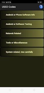 USSD Codes apk Ads free mod