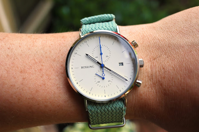 Rossling & Co. Regatta 1958 wrist shot