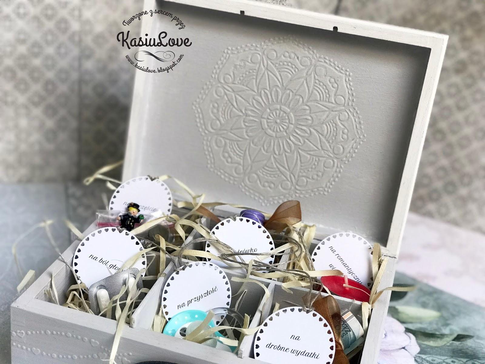 Bardzo dobry KasiuLove: prezent na ślub - niezbędnik małżeński XB79
