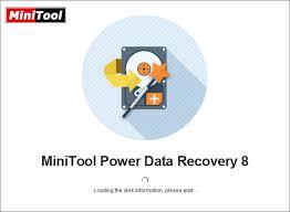 تحميل اسطوانة استعادة الملفات المحذوفة | MiniTool Power Data Recovery 8.6 WinPE ISO