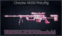 Cheytac M200 PinkyPig