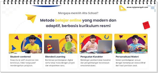 Alta School Bimbel Bimbel online Bimbingan online