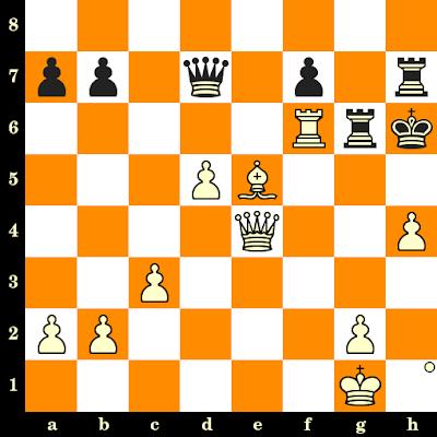 Les Blancs jouent et matent en 3 coups - Nia Donghvani vs Monika Motycakova, Batoumi, 2019