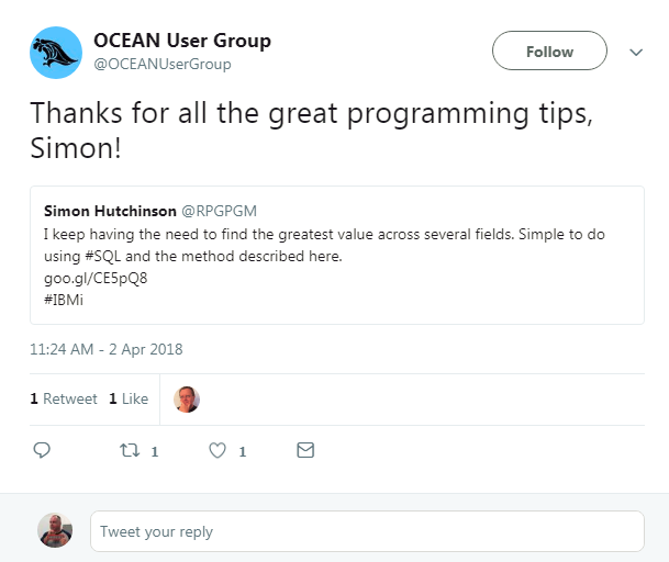 Thanks for all the great programming tips, Simon!