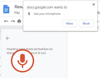 Mengetik Otomatis Dengan Google Dokumen