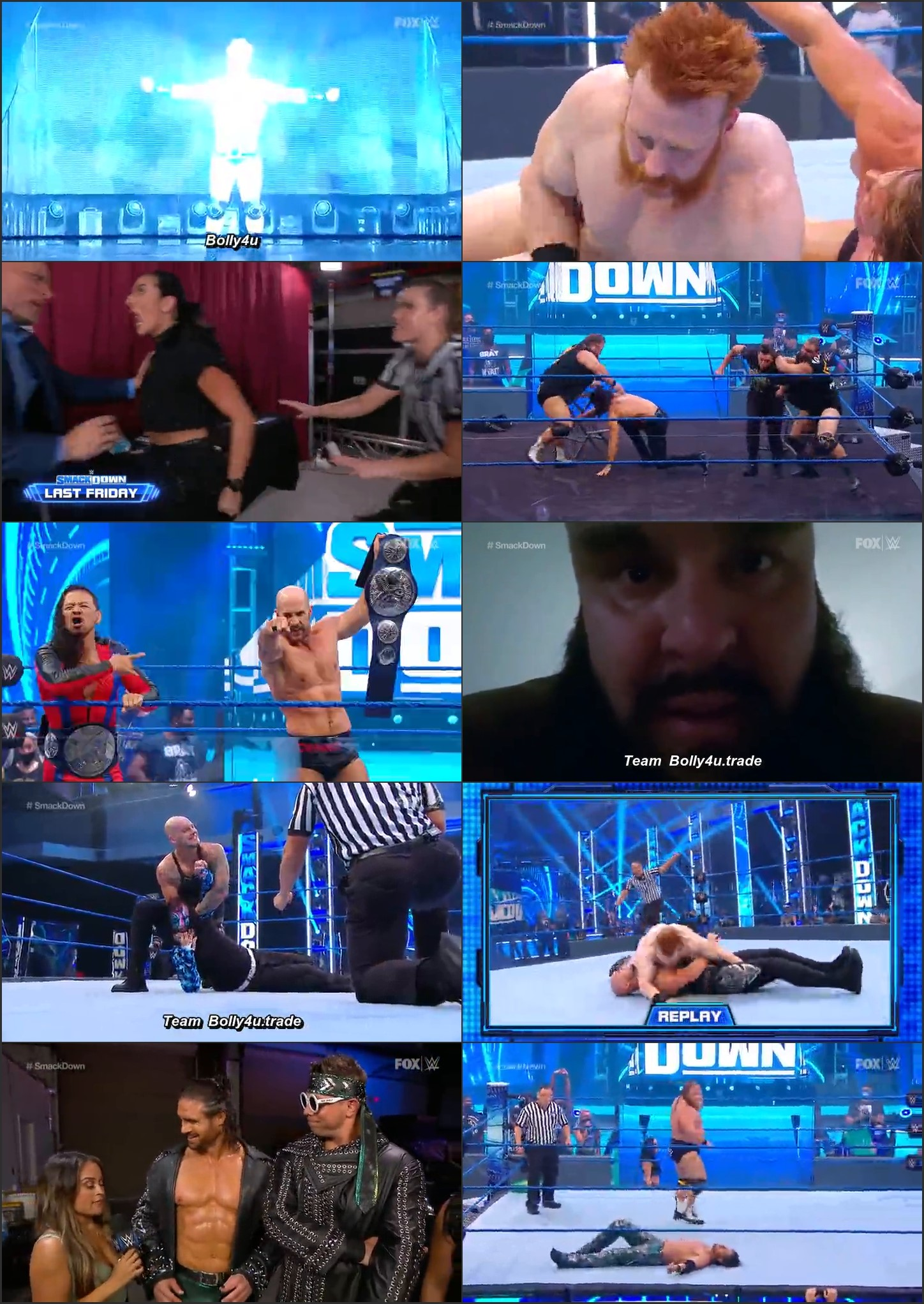WWE Friday Night Smackdown HDTV 280Mb 480p 07 August 2020 Download