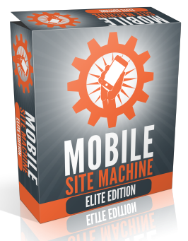 [ELITE EDITION] Mobile Site Machine Software [GIVEAWAY]
