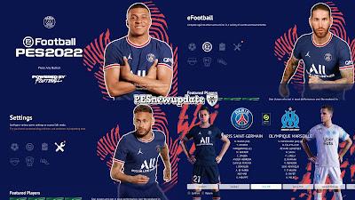 PES 2021 Menu Mod PSG 2021/2022 by PESNewupdate