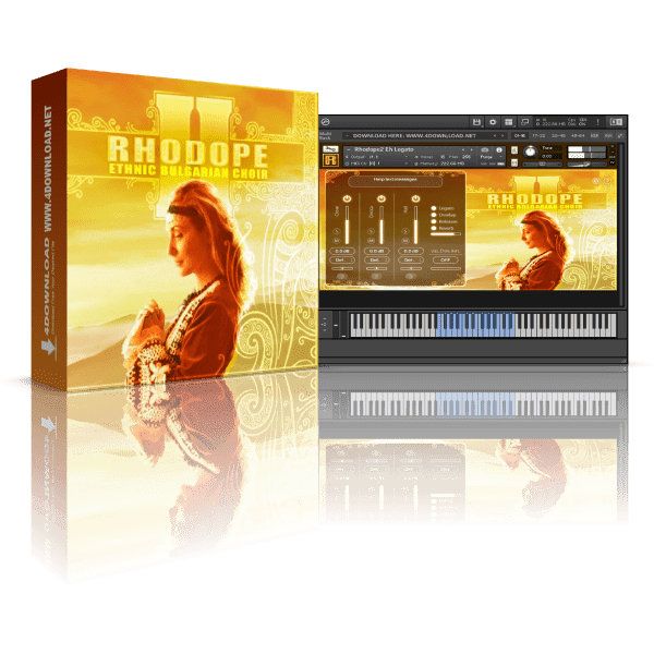 RHODOPE 2 Ethnic Bulgarian Choir KONTAKT Library
