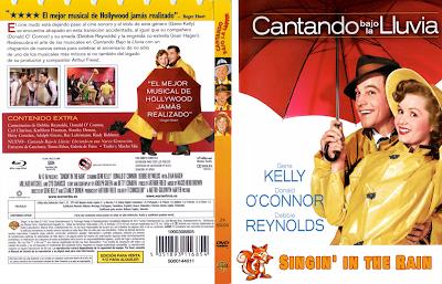 Carátula dvd: Cantando bajo la lluvia (1952) Singin' in the Rain