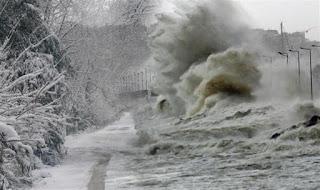 Ερχεται νέα κακοκαιρία από τη Δευτέρα με καταιγίδες και πυκνές χιονοπτώσεις