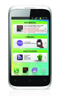 Spesifikasi dan Harga Smartphone Cyrus Glory Terbaru 2013