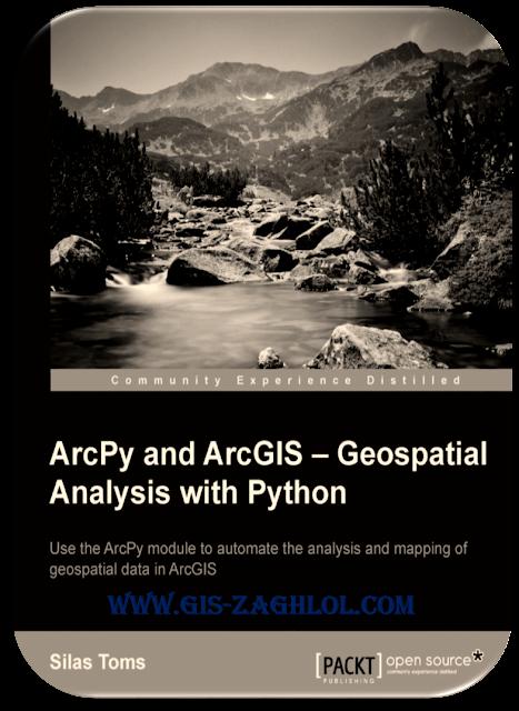 تحميل كتاب تحليل المكاني باستخدام بايثون ArcPy and ArcGIS Geospatial analysis with Python