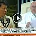 Pangulong Duterte mas sikat na kaysa sa Santo Papa ayon sa survey ng Time Magazine.