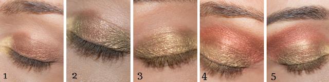 maquillage monday shadow challenge bronze