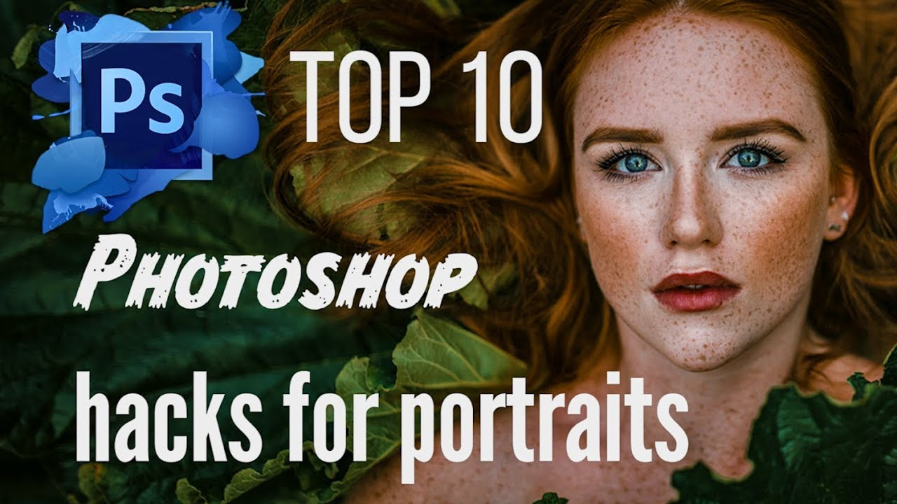 Irene Rudnyk´s TOP 10 Photoshop Hacks for Portraits