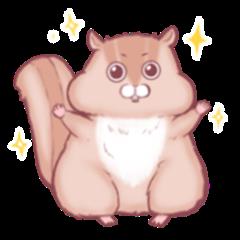 pochaisquirrel pochasquirrel overweight