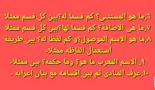 আলিম পরীক্ষার সাজেশন ২০২০ | আলিম আরবি ২য় পত্র সাজেশন ২০২০