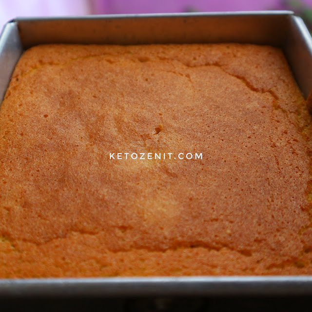 Sponge cake tepung kelapa