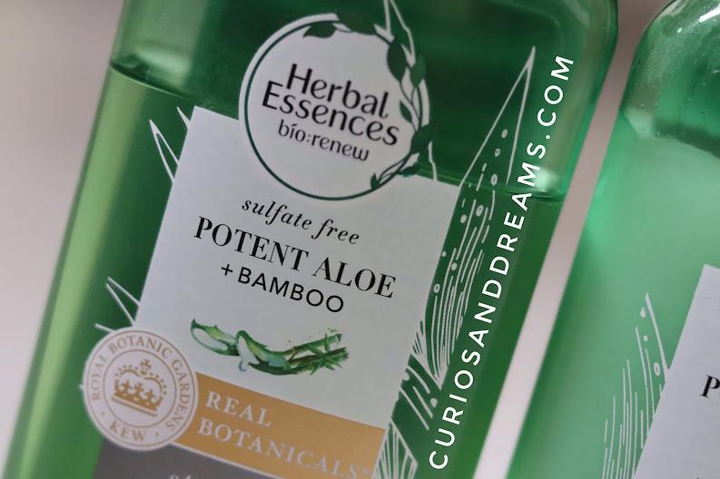 Herbal Essences Aloe + Bamboo Shampoo, Herbal Essences Aloe + Bamboo Shampoo review, Herbal Essences india, Herbal Essences shampoo review
