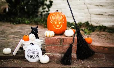 hocus pocus pumpkin carving