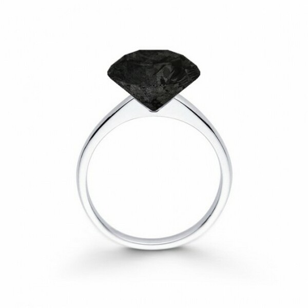 Graphite Engagement Ring