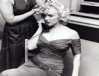 Foto Blanco y negro de Marylin Monroe