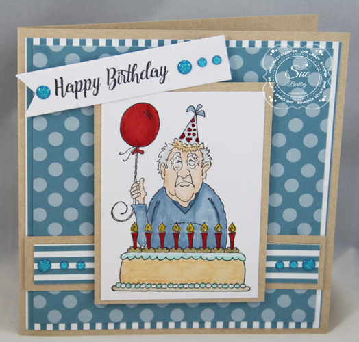 High Hopes Stamps Happy Birthday