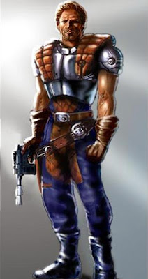 "Dash Rendar en ""Star Wars: Sombras del Imperio"""