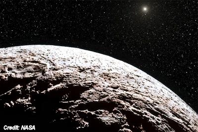 Mystery Object in Weird Orbit Beyond Neptune
