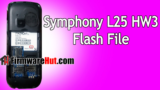Symphony L25 HW3 Flash File SC6531E Tested (Stock Official Rom)