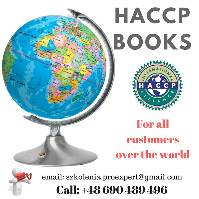 HACCP Books for all kinds business yachts, boats, ships - professional performance guaranteed!