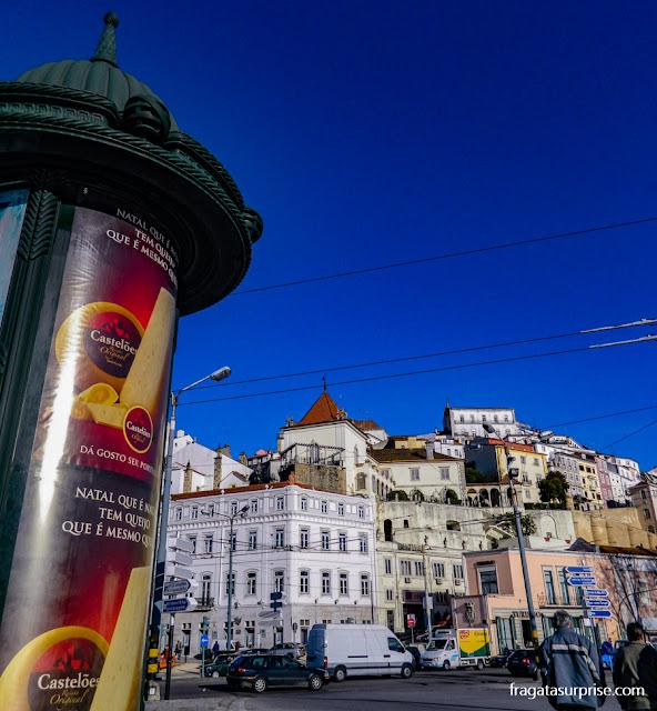 O Centro Histórico de Coimbra visto da Ponte de Santa Clara