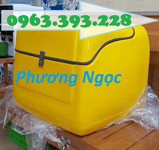 Thùng giao hàng trung, thùng chở hàng sau xe máy, thùng ship đồ ăn 59673c3ad9073b596216
