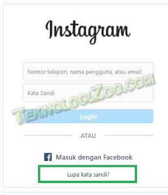 cara mengembalikan akun instagram yang lupa semuanya 2021