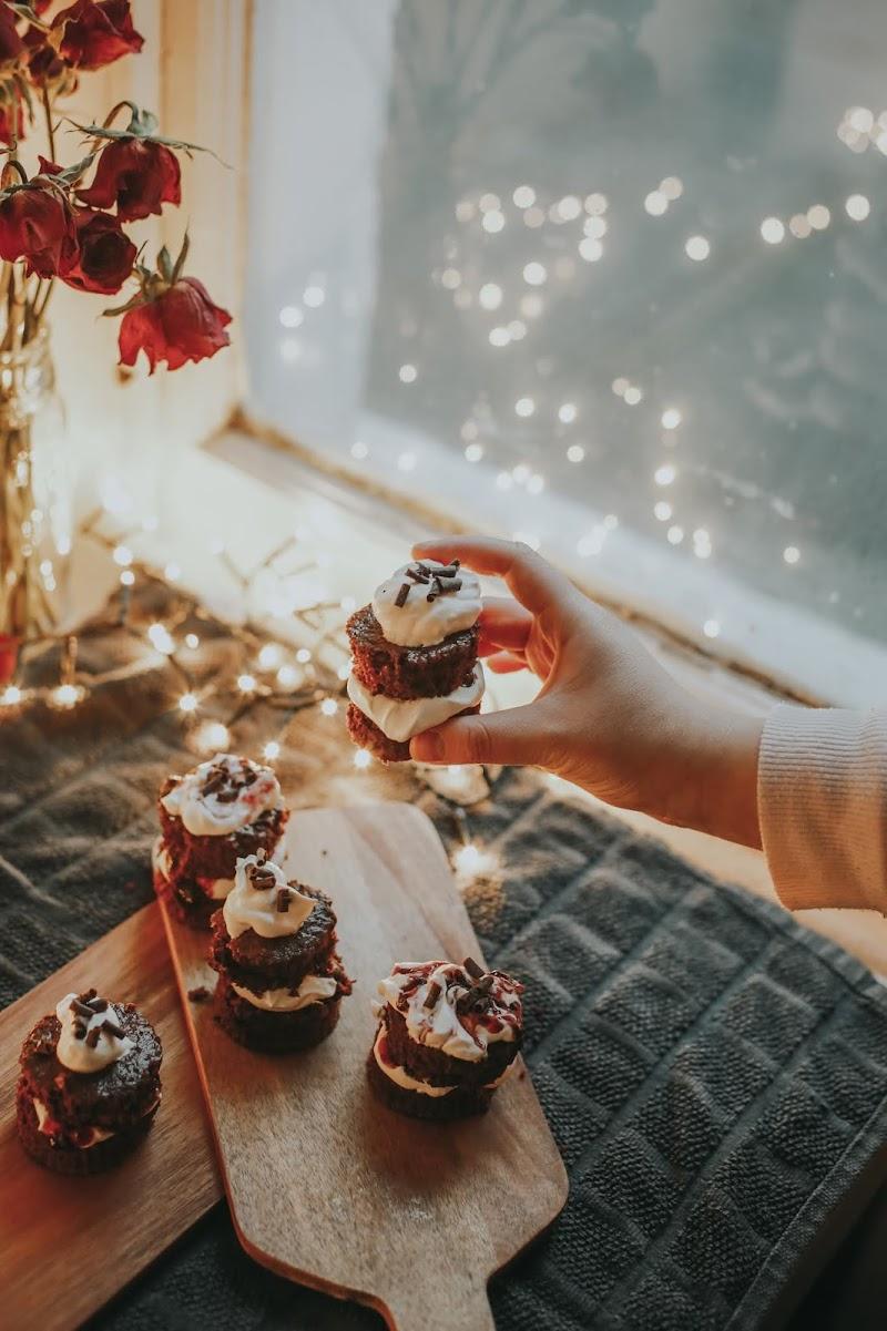 Rêveuse Recipe: Black Forest Gateaux Cupcakes