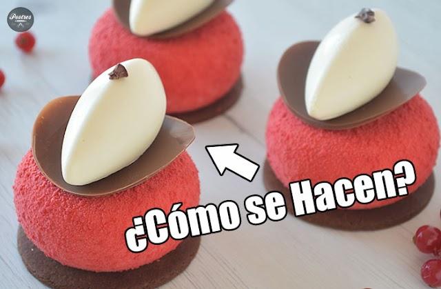 💖DECORACIONES con CHOCOLATE | Discos CHOCOLATE Curvados 📀¿Cómo se Hacen? 💯