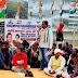 कृषि विधेयकों के विरोध में कांग्रेस ने दिया एक दिवसीय धरना