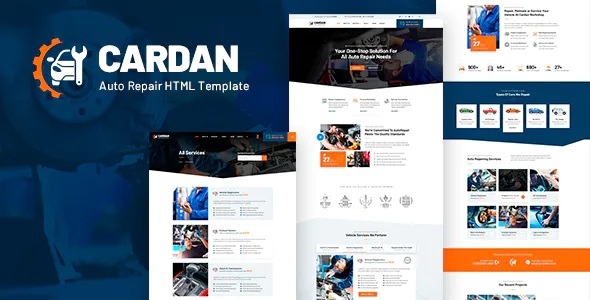 Best Car Repair Services HTML Template