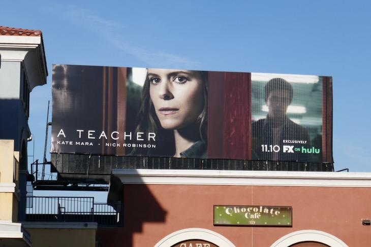 A Teacher FX series billboard