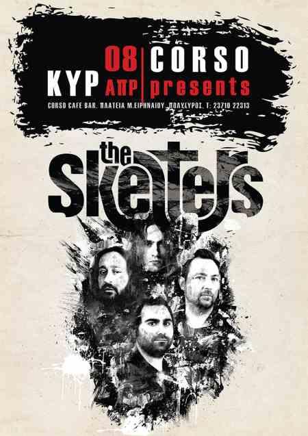 THE SKELTERS:  Κυριακή 8 Απριλίου @ Corso bar (Πολύγυρος Χαλκιδικής)