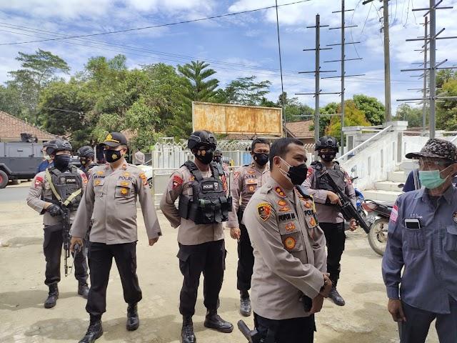 Patroli Brimob Lampung Tengah Ciptakan Kondisi Aman Selama Pilkada