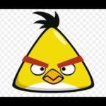 الطائر الاصفر لعبة الطيور الغاضبة